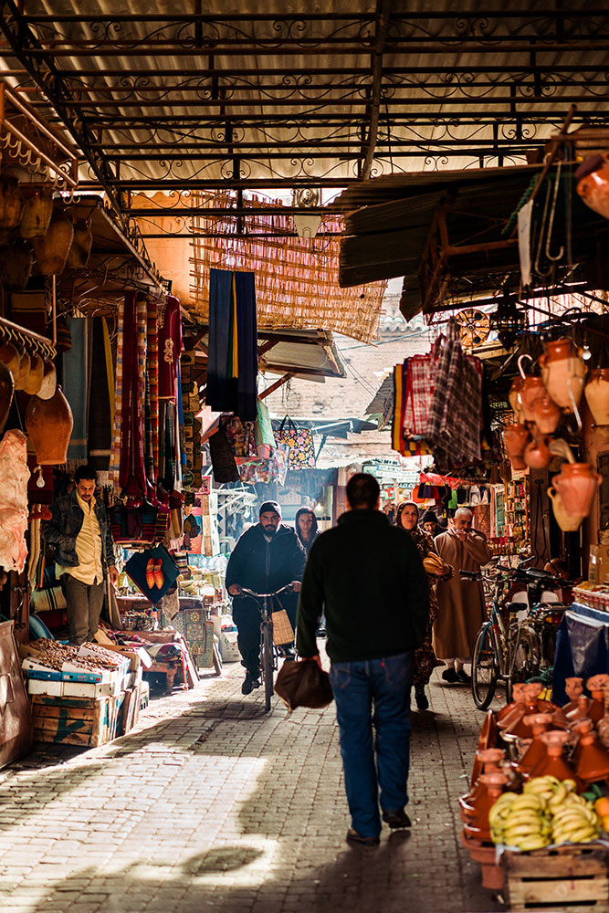 """Marrakech Souk"" Photo by JB Rasor."