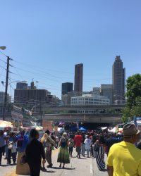 The 32nd annual Sweet Auburn Festival brings masses to Sweet Auburn district of Atlanta.