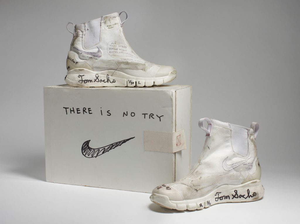 Nike x Tom Sachs Whites (Original), 2008-12 Collection of the artist Courtesy American Federation of Arts