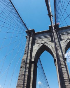 Brooklyn Bridge. Photo by Jeanie Lo.