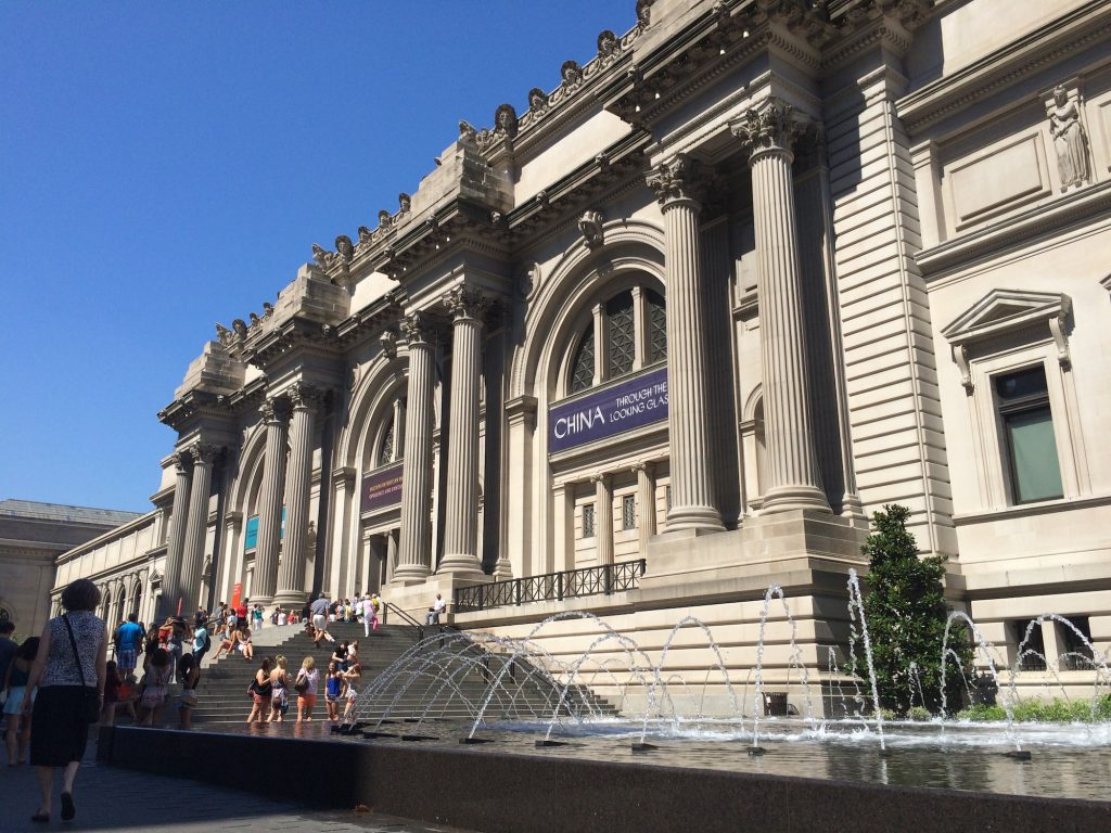The Metropolitan Museum of Art. Photo by Jeanie Lo.