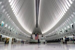 "World Trade Center Transportation Hub ""Oculus"". Photo by Jeanie Lo."