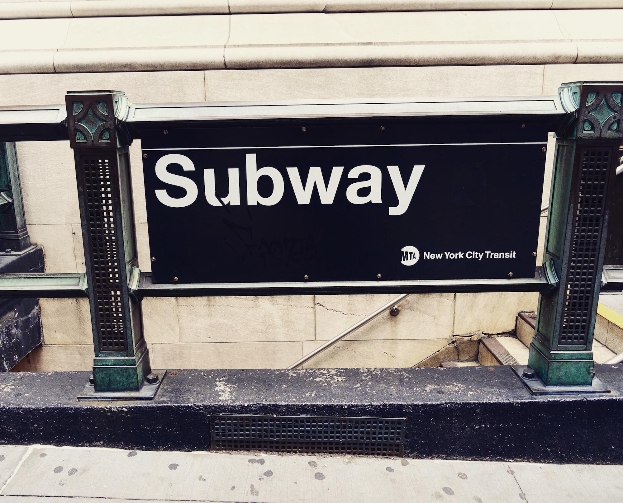 NYC Subway. Photo by Jeanie Lo.