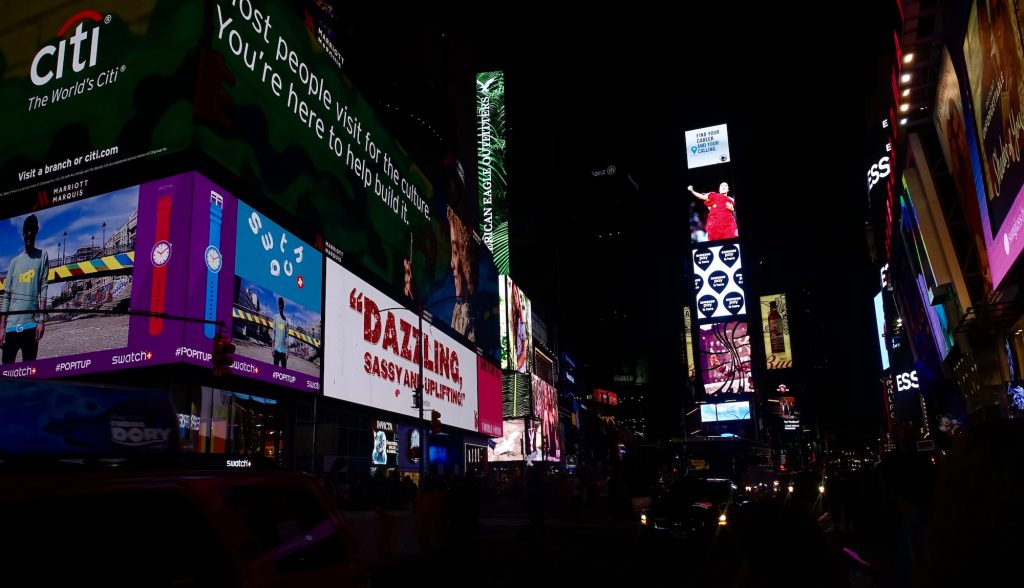 Times Square. Photo by Jeanie Lo.