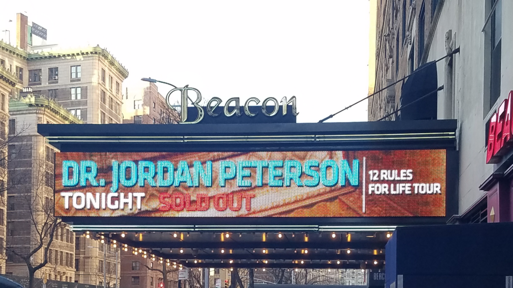 jordan peterson tour