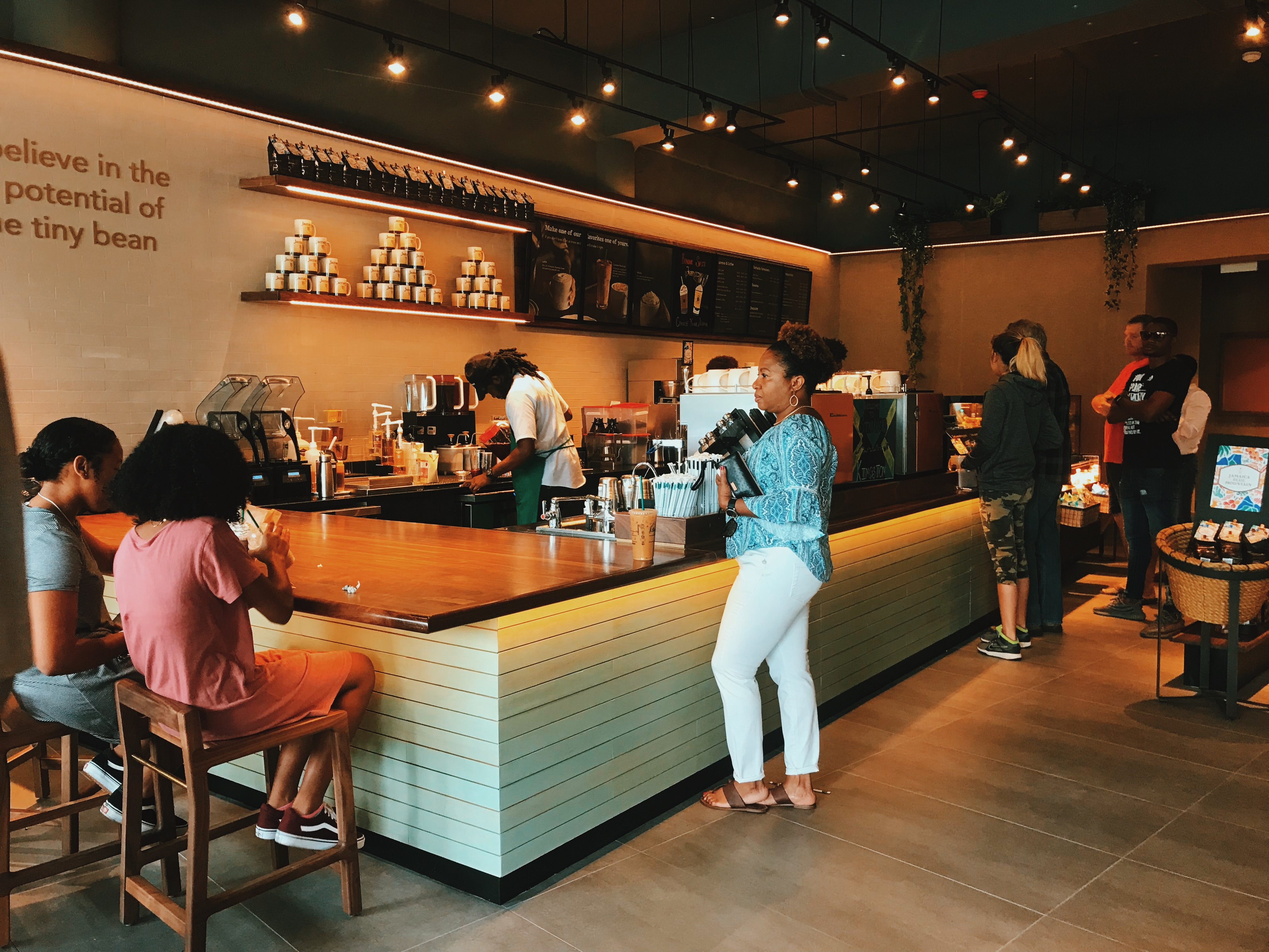 Super Starbucks Arrives In Kingston Jamaica The Connector Home Remodeling Inspirations Genioncuboardxyz